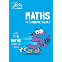 Letts Maths in 5 Minutes a Day Age 7-8: Home Learning and School Resources from the Publisher of Revision Practice…