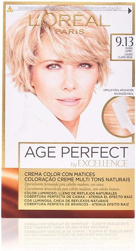 L'Oréal Paris Age Perfect Coloración permanente, Tono: 9.13