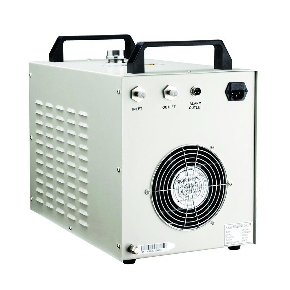 Industrial refroidisseur deau froide 40/W 50/W 60/W 80/W Tube de CO2/Laser Graveur Cw-3000ag