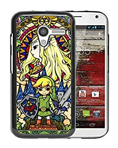 Fashionable And Nice Designed Case With Legend Of Zelda Black For Motorola Moto X Phone Case