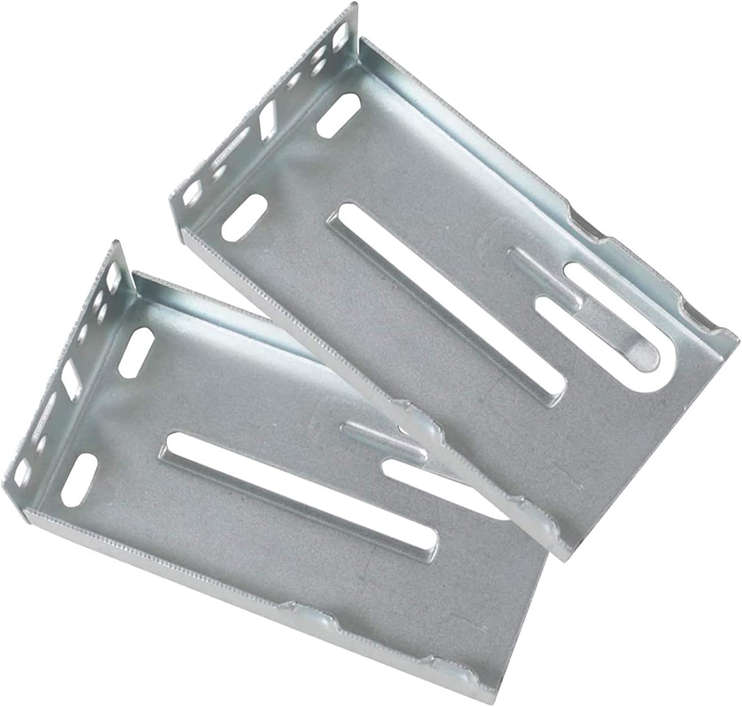 Gobrico Face Frame Rear Mounting Brackets for Drawer Slides Furniture Hardware 1Pair