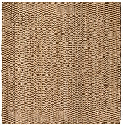 Safavieh NF183A-5SQ Area Rug, 5' Square, Natural/Brown