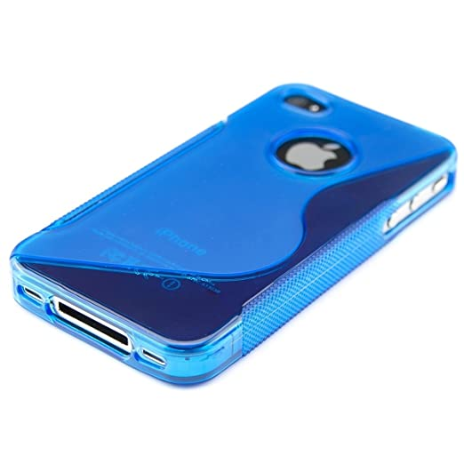 485 opinioni per kwmobile Cover per Apple iPhone 4 / 4S- Custodia in silicone TPU- Back case