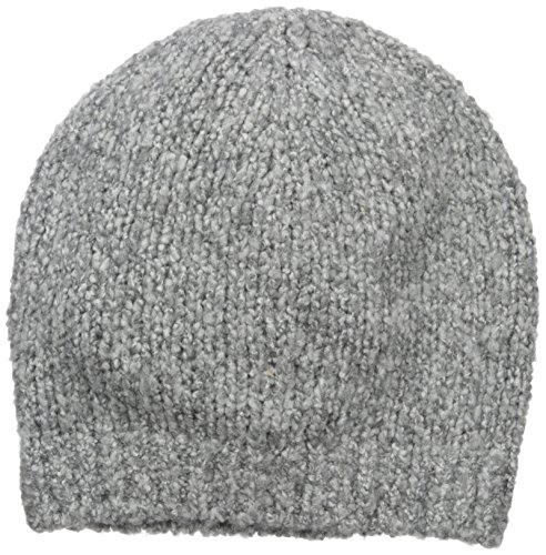 Vince Women's Marl Beanie, Heather Grey/White, One Size by Vince