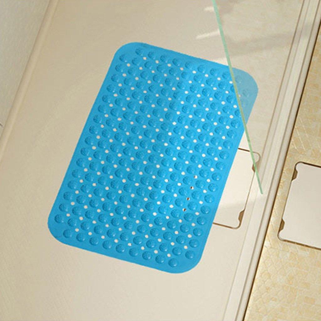 Badezimmer Toilette K/üche Anti-Rutsch-PVC-Badewanne Matte Anti-Rutsch Anti-Bakterien Wasserdicht Antifouling Duschmatte Fu/ß Pad Home Mat mit Sauger RUG ZI LING Shop