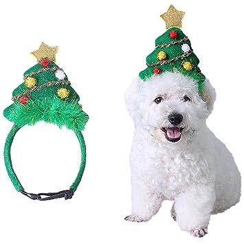 UCTOP Store 1 pieza ajustable mascota perro árbol de Navidad diadema de  ciervo diadema Navidad reno 60cb55cd87b