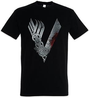 Camiseta Hombre Vikingos King Ragnar Lodbrok Valhalla Ivar ...