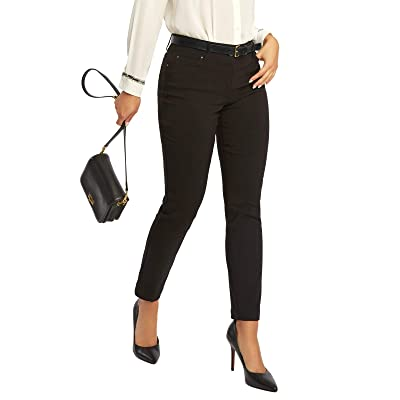 89th + Madison Women's Millennium Stretch Five Pocket Straight Leg Pants at Women's Clothing store