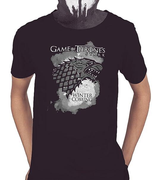 Acokaia Camiseta Juego de Tronos Stark (XS)