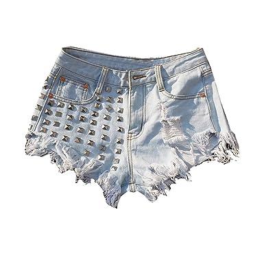 Pantalones Cortos de Verano para Mujer, Ligeros ...