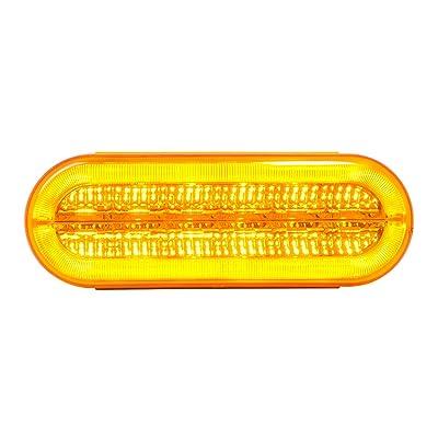 GG Grand General 74855 Sealed Light (Oval Prime+ Spyder Amber 16 LED): Automotive