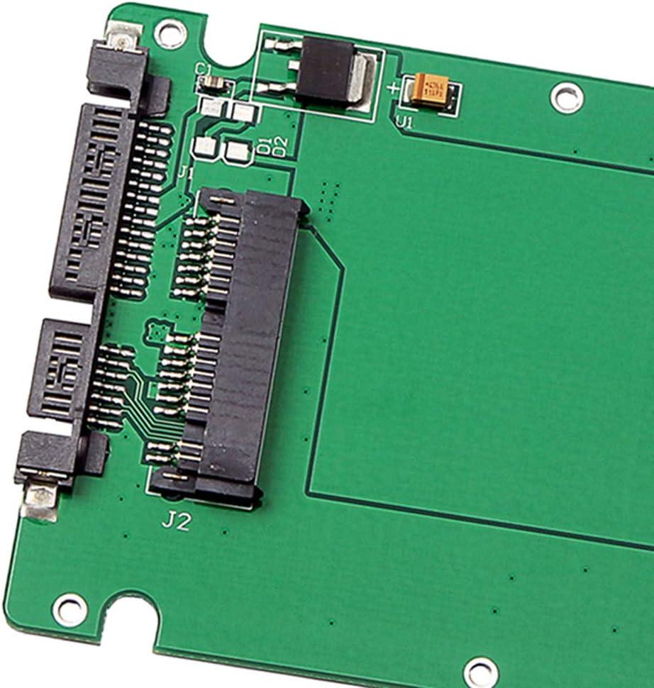 1.8 Micro SATA 16Pin SSD to 2.5 SATA Port Adapter Module Board
