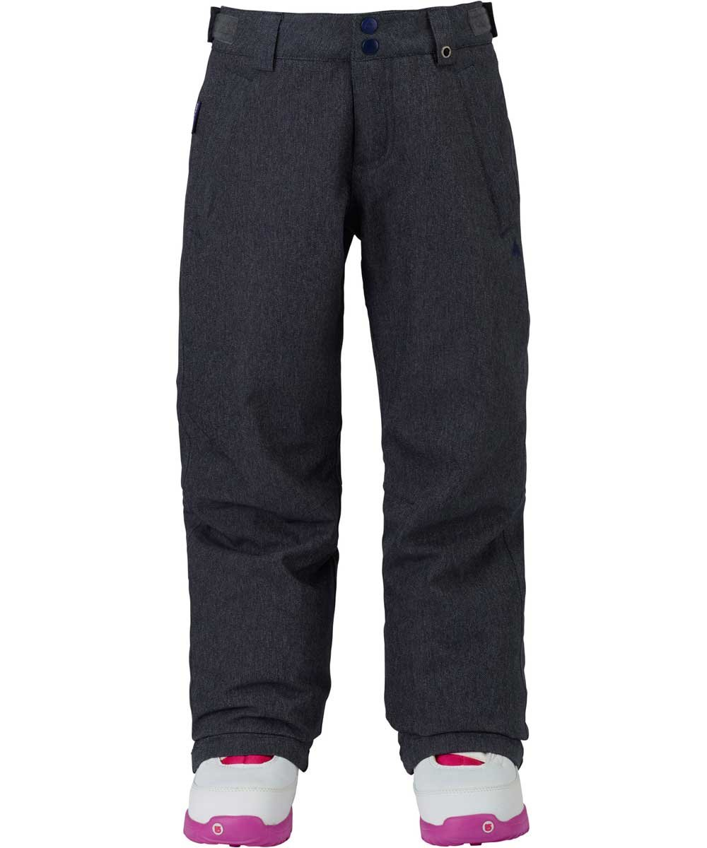 Burton Kids Girls Sweetart Snow Pants Denim Size Medium