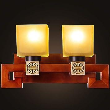 XX Chinesische Moderne Minimalistische Holz Wandleuchte Wohnzimmer ...