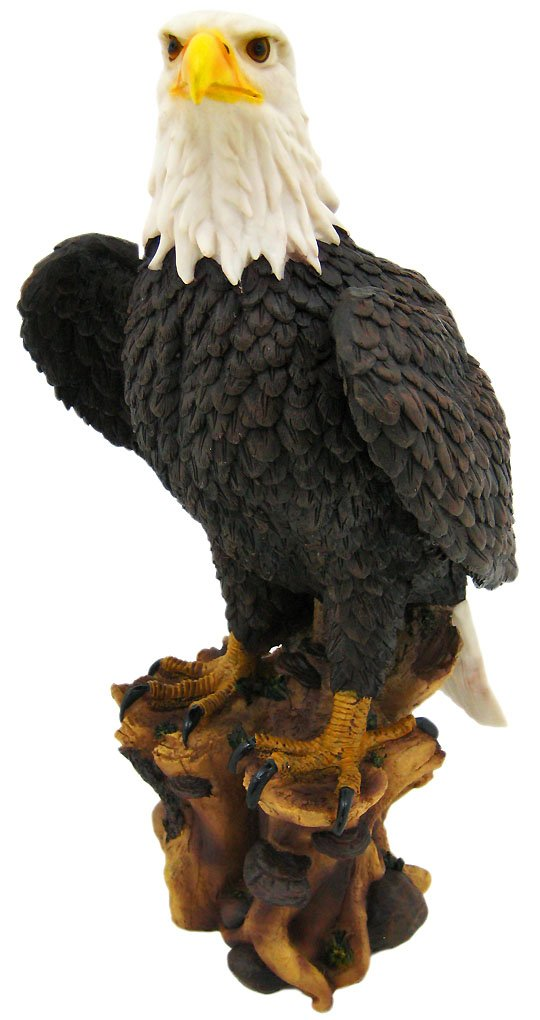 Private Label `American Pride` Bald Eagle Statue Nature Figure