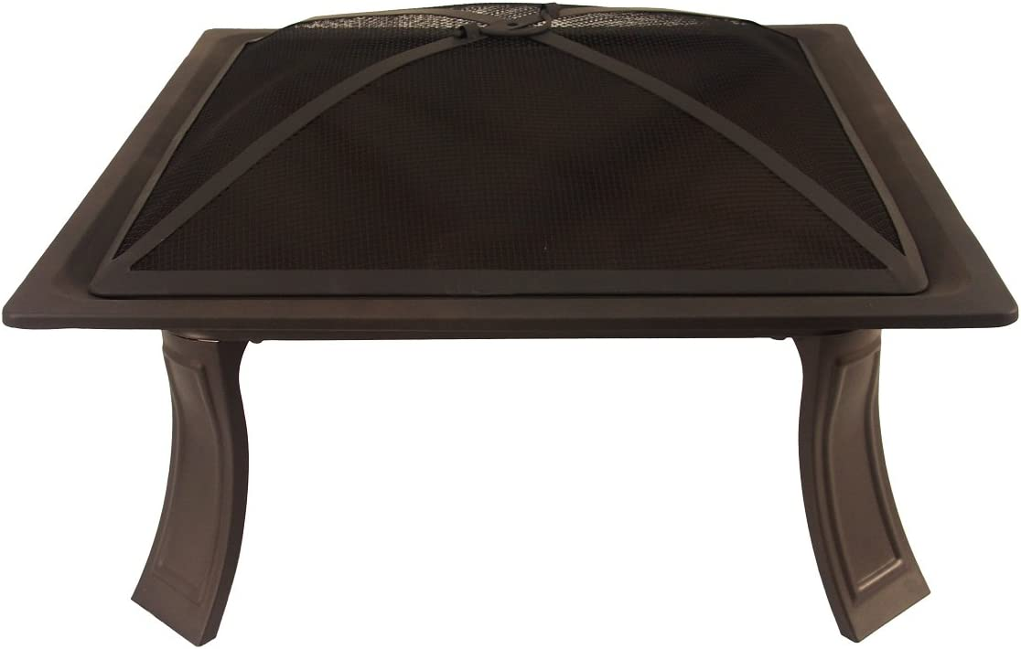 Catalina Creations AD413-1 Portable Folding Square Fire Pit