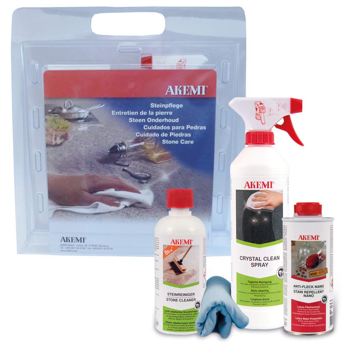 Akemi Small Stone Care Set