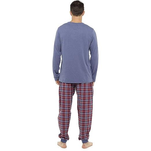 CityComfort Mens Pijamas Perfect Soft Touch Loungewear Set Hombres Pantalones de pijama Pantalones Pantalones de algodón o Fleece Flannel Winter - Regalo ...