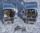 i5 Chrome Switch Housings for Harley Davidson Electra Glide Road King