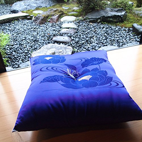 Four Seasons High-Quality Japanese-Made Cushion Using The Brocade( Kimono Fabric) . All Season.(Zabuton) 26.3× 27.5Inch by Four Seasons
