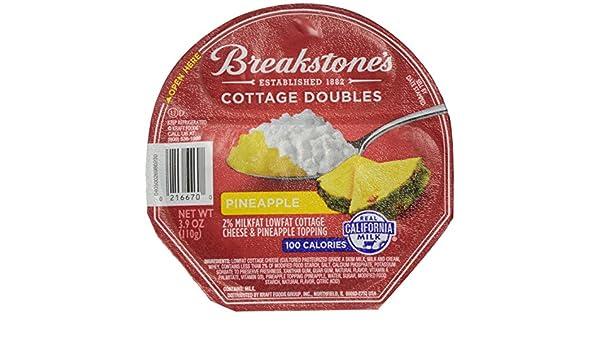 Prime Breakstones 100 Calorie Pineapple Cottage Doubles 3 9 Oz Home Remodeling Inspirations Gresiscottssportslandcom