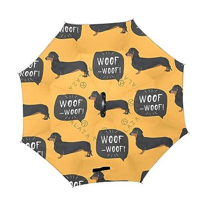 31794903564d2 Amazon.com : XiangHeFu Double Layer Inverted Reverse Umbrellas Cute ...