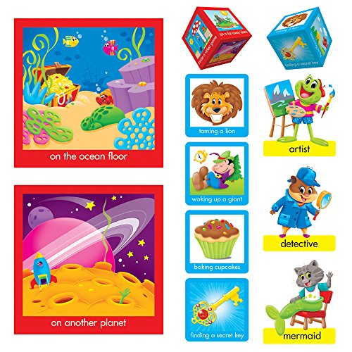 Trend Enterprises T-8422 Playtime Pals Tell A Story Bulletin Board Set, Grade: Kindergarten to 3, Paper, (Pack of 42) (Adventure Bulletin Board Set)