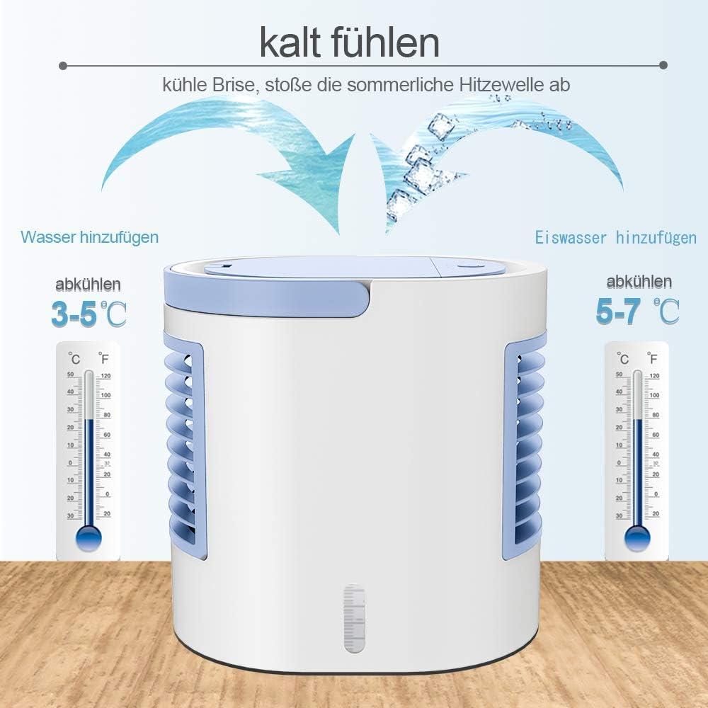 Aire acondicionado portátil, refrigerador portátil, forma fácil y ...