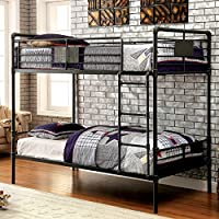 HOMES: Inside + Out IDF-BK913 Xondro Bunk Bed Childrens Frames, Queen / Queen
