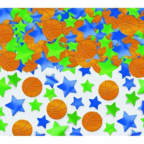 Basketball- und Stern- Konfetti (70g) amscan 379707