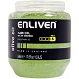 Enliven Hair Gel 500ml Olive