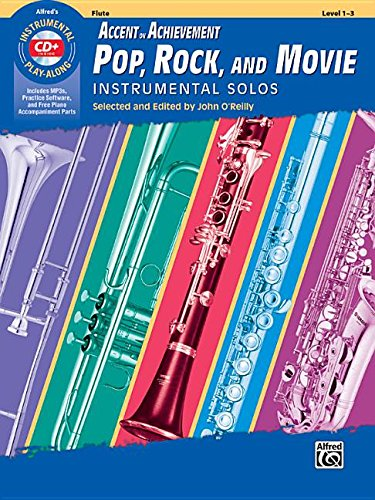 Movie Instrumental Solos Flute - AOA Pop, Rock, and Movie Instrumental Solos: Flute, Book & CD (Instrumental Solos Series)