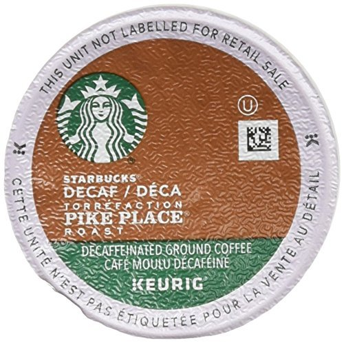 Starbucks Decaf Pike Place Roast K Cups (72 Count)