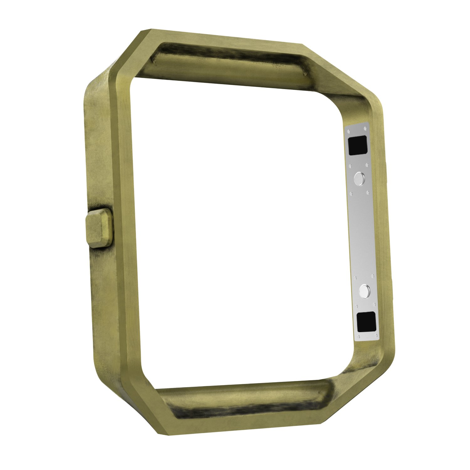 MoKo Fitbit Blaze Band Frame , Stainless Steel Replacement Metal Frame Housing For Fitbit Blaze Smart Watch - Anti Brass