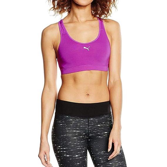 cc1591072ac Puma Pwrshape Cardio Femme Brassière de Sport Violet  Amazon.fr  Vêtements  et accessoires