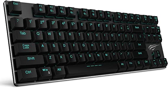 Mechanical Keyboard HAVIT Backlit Wired Gaming Keyboard Extra-Thin & Light
