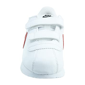 new styles a0df2 35cb3 Nike Cortez Basic SL (TDV) Chaussons Mixte bébé, Blanc (White Red-