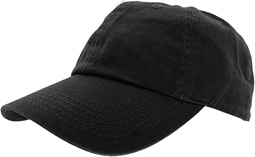 Gold Plain Solid Blank Washed Cotton Polo Style Low Crown Baseball Ball Cap Hat