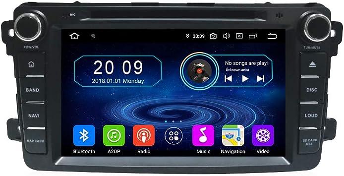 Taffio 8 Touchscreen Android Autoradio Navigation Dvd Elektronik