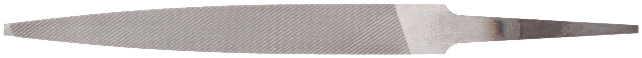 Nicholson Warding Hand File, American Pattern, Double Cut, Rectangular, Coarse, 10'' Length