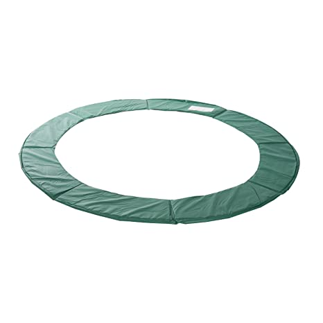 Green HOMCOM 10FT Replacement Trampoline Pad Thick Foam Safety Spring Cover Bounce Padding