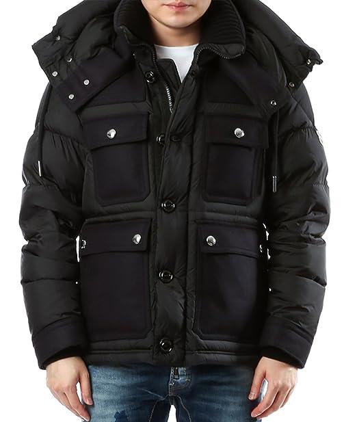 766255c66 Wiberlux Moncler Rillieux Men's Detachable Hood Padded Jacket 5 ...