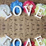 Totoo Decorative Wood Letters, Hanging Wall 26