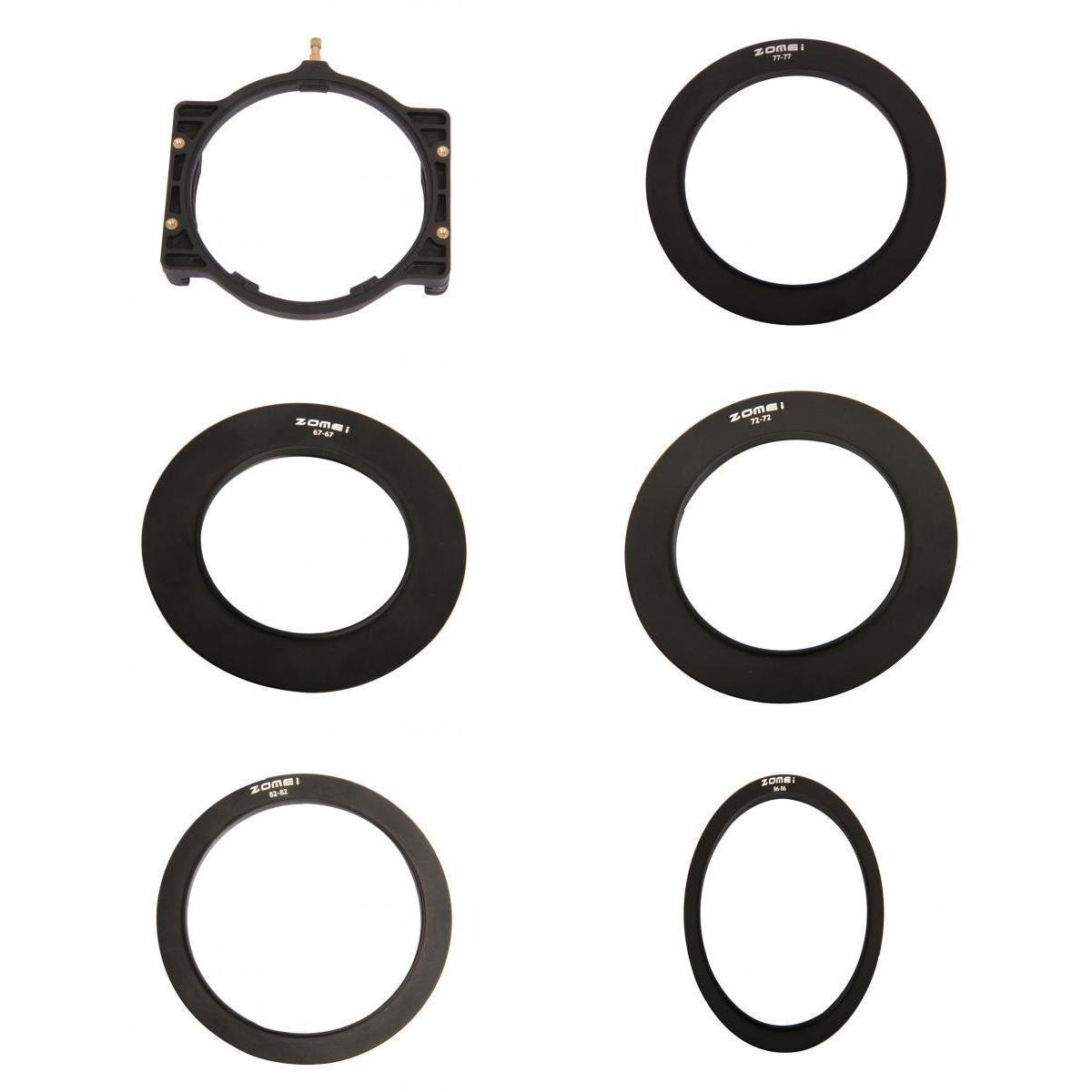 Zomei multifunci/ón Adapteur soporte de FITRE cuadrado 150/* 100/mm 100/* 100/mm anillo adaptado a la objetivo para Lee Cokin Z System