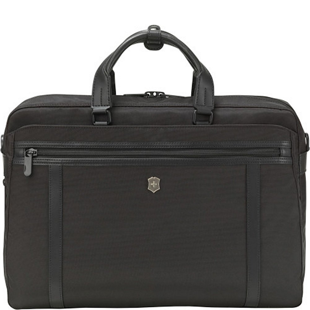 Victorinox Werks Professional 2.0 15'' Brief Laptop Briefcase, Black, One Size
