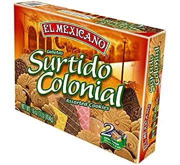 El Mexicano Surtido Colonial Cookies 16 oz