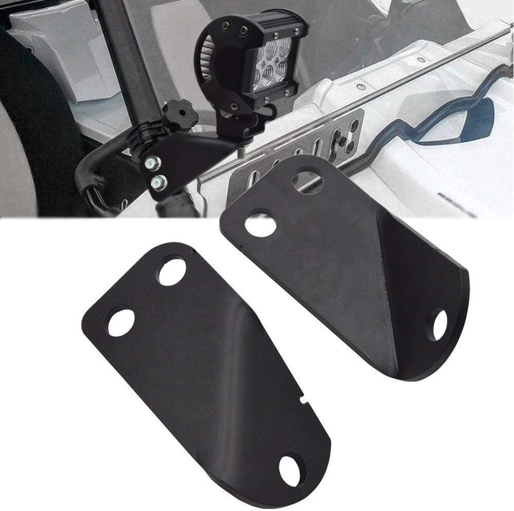 Chelhead A Pillar Led Pod Light Roll Bar Cage Mounting Brackets Compatible with 2016 2017 2018 2019 2020 Yamaha YXZ 1000R