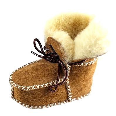 Bébé garder au chaud doux Sole Bottes de neige molle Berceau Bottes Chaussures enfant gris TjjCbJVr3t