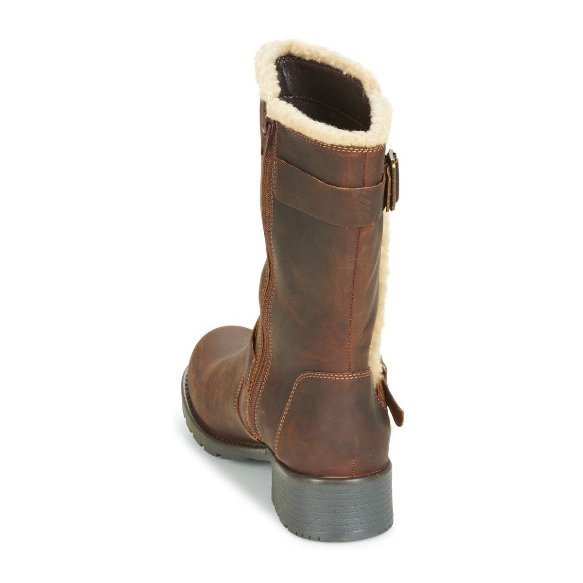 Clarks Damen Freizeit Orinoco Art Art Art Leder Stiefel Braun Gewachst Größe 41 48b7cf