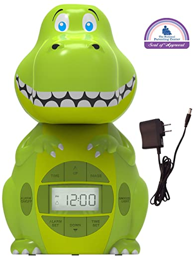 Big Red Rooster BRRC103AC Dinosaur Projection Alarm Clock Review
